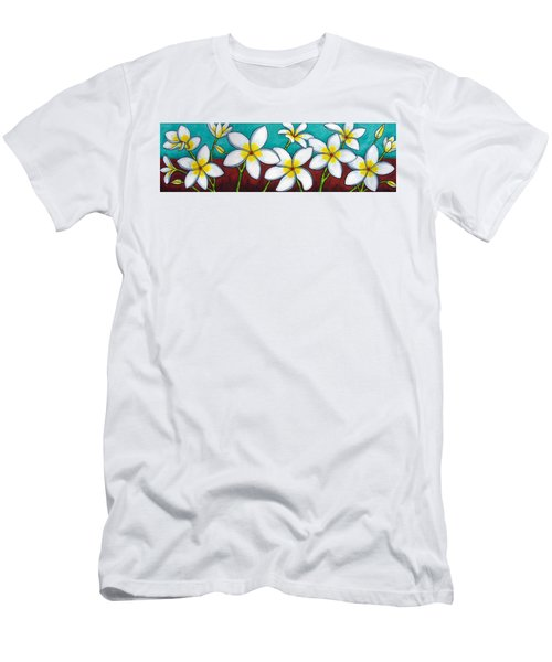 Frangipani Delight Men's T-Shirt (Athletic Fit)