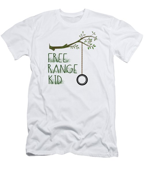 Free Range Kid Men's T-Shirt (Athletic Fit)
