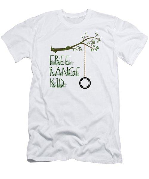Free Range Kid Men's T-Shirt (Athletic Fit)