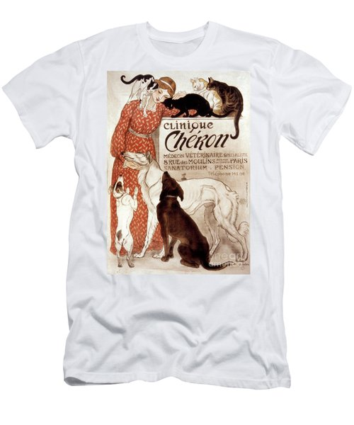 French Veterinary Clinic Men's T-Shirt (Athletic Fit)