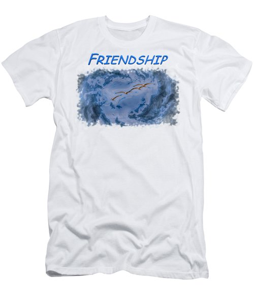 Friendship Men's T-Shirt (Athletic Fit)