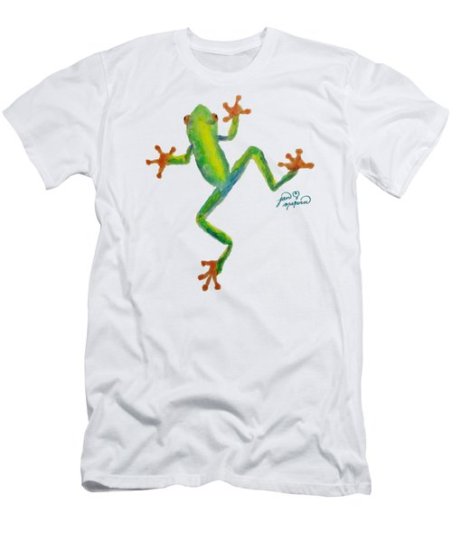 Red Eyed Tree Frog By Jan Marvin Men's T-Shirt (Slim Fit) by Jan Marvin