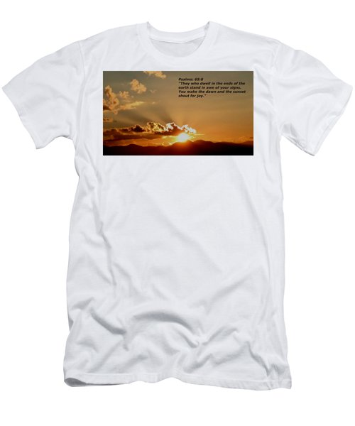 From The East To The West Men's T-Shirt (Athletic Fit)