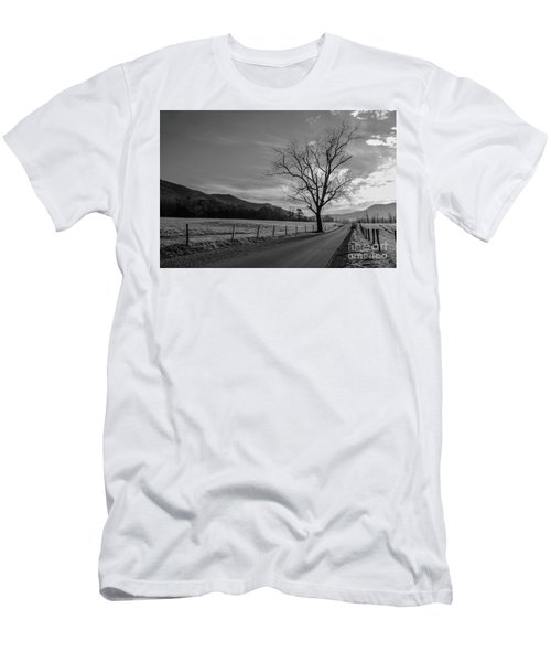 Frosty Morn Men's T-Shirt (Slim Fit) by Marilyn Carlyle Greiner