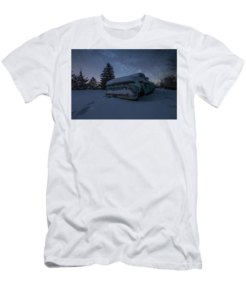 Men's T-Shirt (Slim Fit) featuring the photograph Frozen Rust  by Aaron J Groen