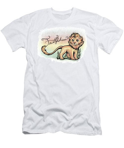 Fruit Of The Spirit Faithfulness Men's T-Shirt (Athletic Fit)