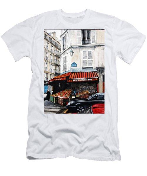 Fruits Et Legumes Men's T-Shirt (Athletic Fit)
