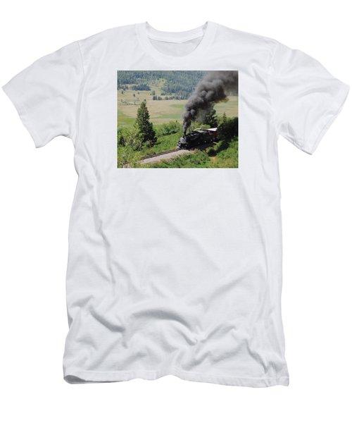 Full Steam Ahead Men's T-Shirt (Athletic Fit)