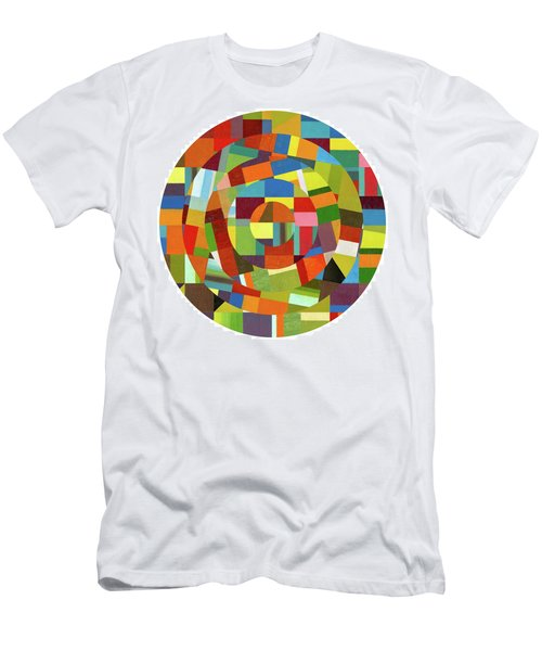 Men's T-Shirt (Athletic Fit) featuring the painting Full Tilt by Michelle Calkins