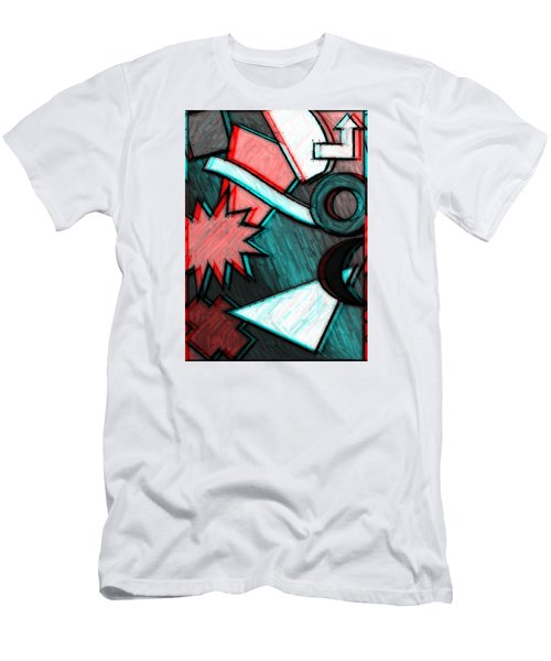 Funky Fanfare Men's T-Shirt (Slim Fit) by Kyle West