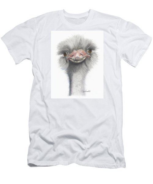 Funny Face Men's T-Shirt (Slim Fit) by Phyllis Howard