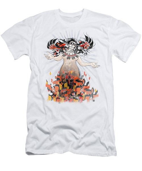 Gaia In Turmoil Men's T-Shirt (Athletic Fit)