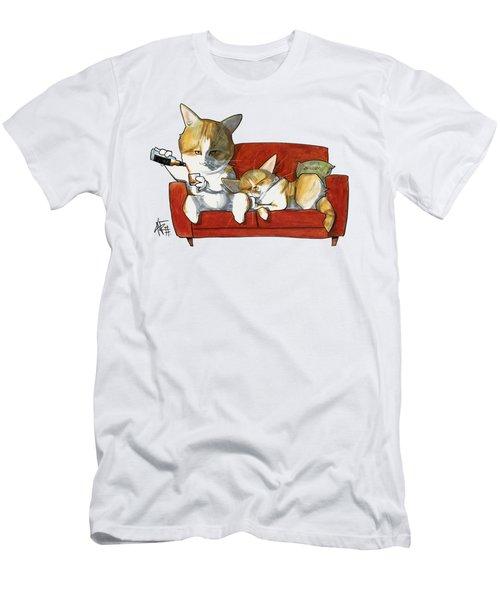 Galmiche 3258 Men's T-Shirt (Athletic Fit)