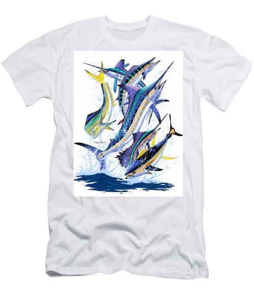 Gamefish Digital Men's T-Shirt (Slim Fit) by Carey Chen
