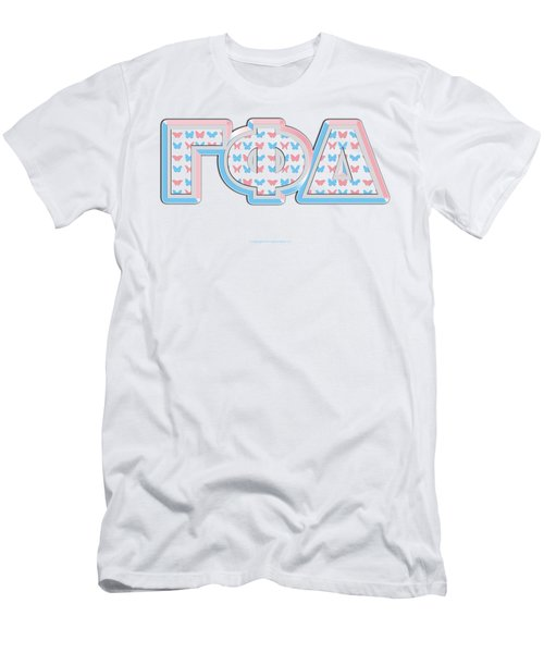 Gamma Phi Delta Greek Men's T-Shirt (Athletic Fit)