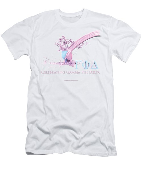 Gamma Phi Delta Splash Men's T-Shirt (Athletic Fit)