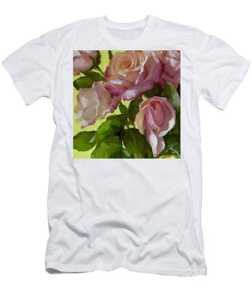Garden Elegance Detail Image Men's T-Shirt (Athletic Fit)