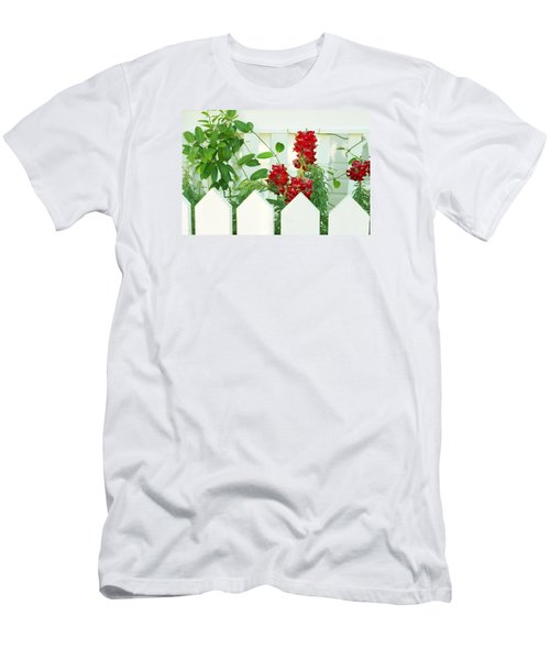 Garden Fence - Key West Men's T-Shirt (Athletic Fit)