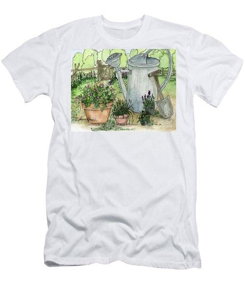 Garden Tools Men's T-Shirt (Athletic Fit)