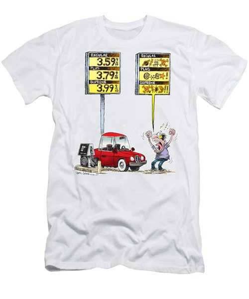 Gas Price Curse Men's T-Shirt (Athletic Fit)