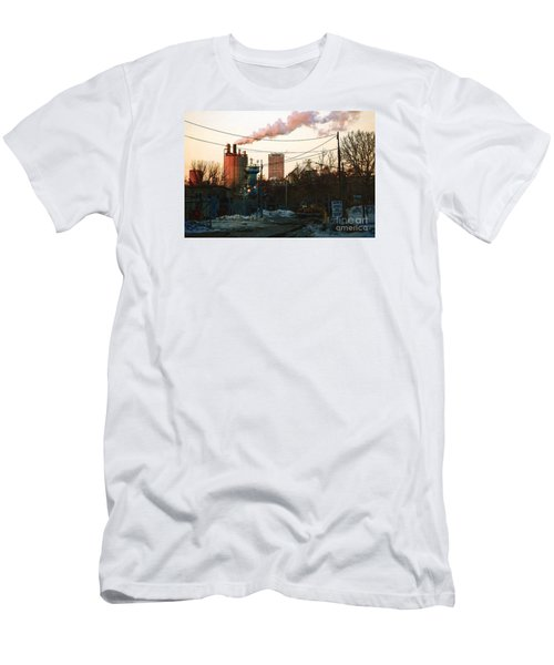 Men's T-Shirt (Slim Fit) featuring the digital art Gate 4 by David Blank