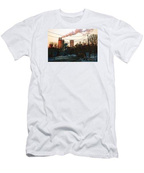 Gate 4 Men's T-Shirt (Slim Fit) by David Blank