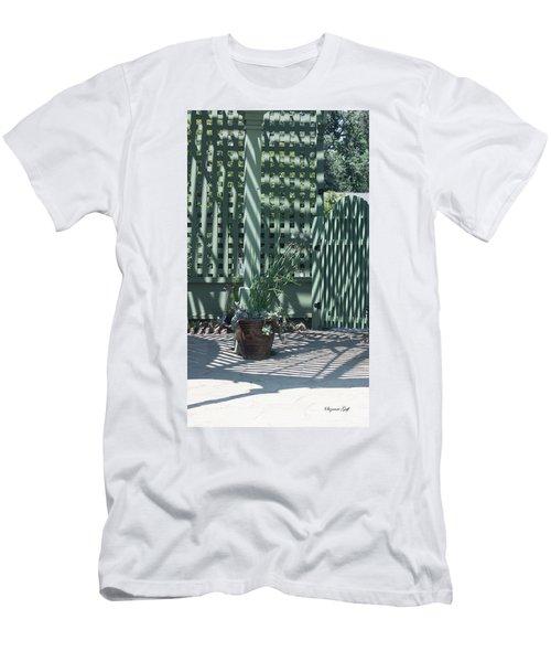Gazebo Shadows Men's T-Shirt (Athletic Fit)