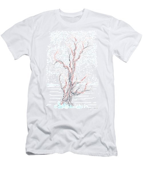 Genetic Branches Men's T-Shirt (Slim Fit) by Regina Valluzzi