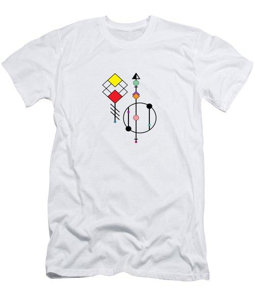 Geometric Art 278 Men's T-Shirt (Athletic Fit)