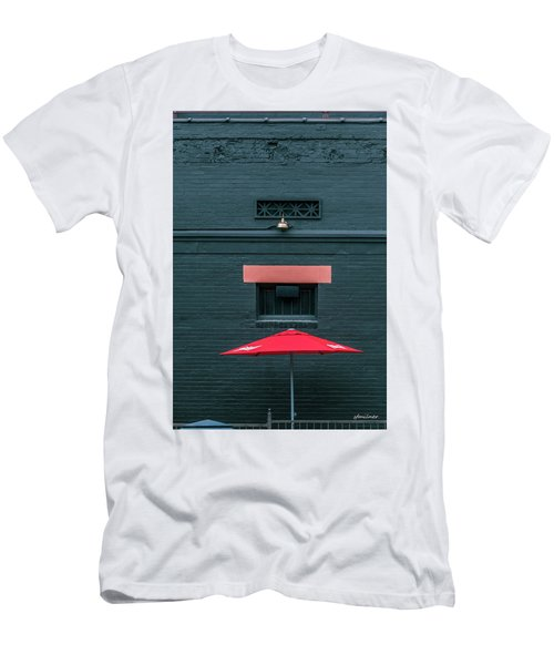 Geometric Illusion Men's T-Shirt (Athletic Fit)