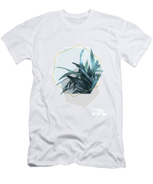 Geometric Jungle Men's T-Shirt (Athletic Fit)