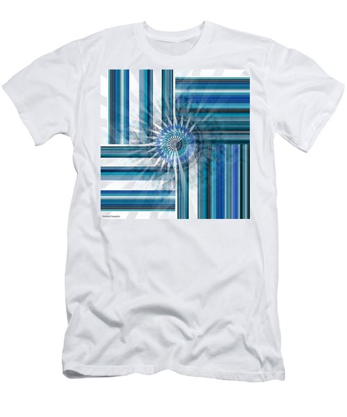 Geometry  Men's T-Shirt (Slim Fit) by Thibault Toussaint