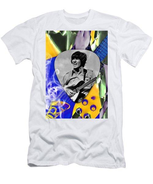 George Harrison Beatles Art Men's T-Shirt (Athletic Fit)