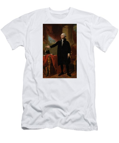 George Washington Lansdowne Portrait Men's T-Shirt (Athletic Fit)