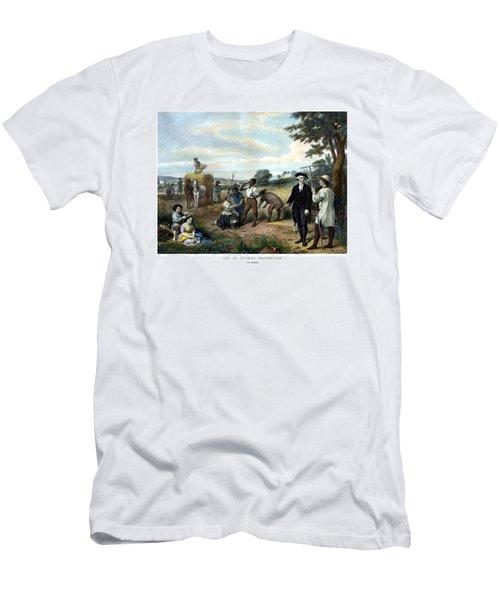 George Washington The Farmer Men's T-Shirt (Athletic Fit)