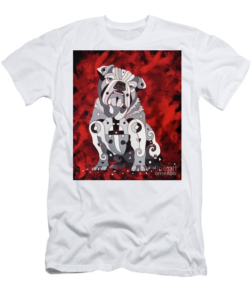 Georgia Bull Dog Men's T-Shirt (Athletic Fit)