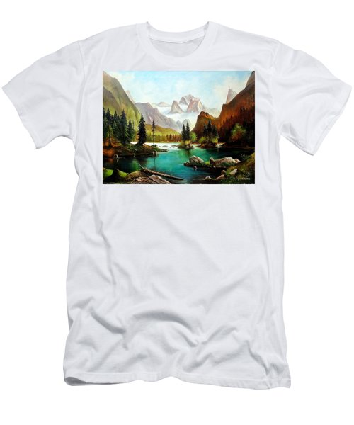 German Alps Men's T-Shirt (Athletic Fit)