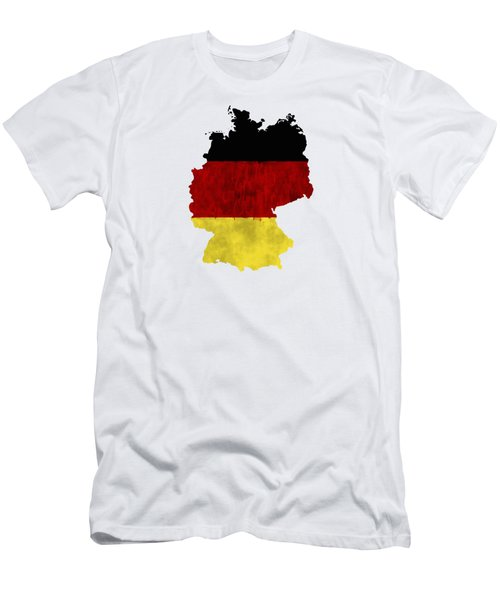 Germany map t shirts fine art america germany map art with flag design mens t shirt athletic fit gumiabroncs Images