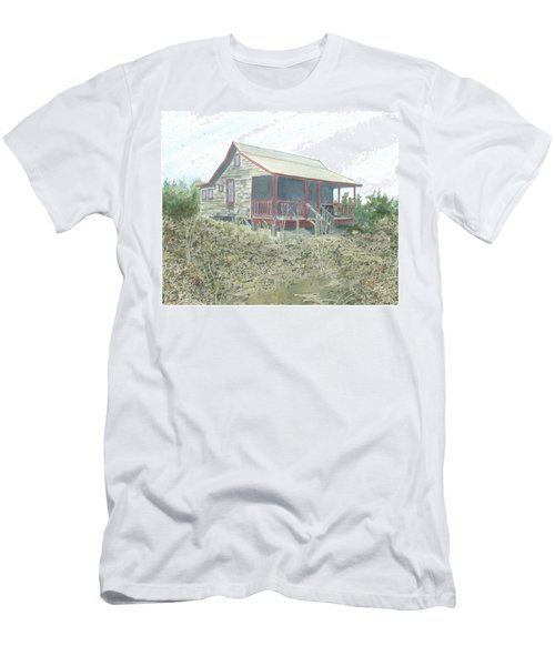 Get Away Cottage Men's T-Shirt (Athletic Fit)