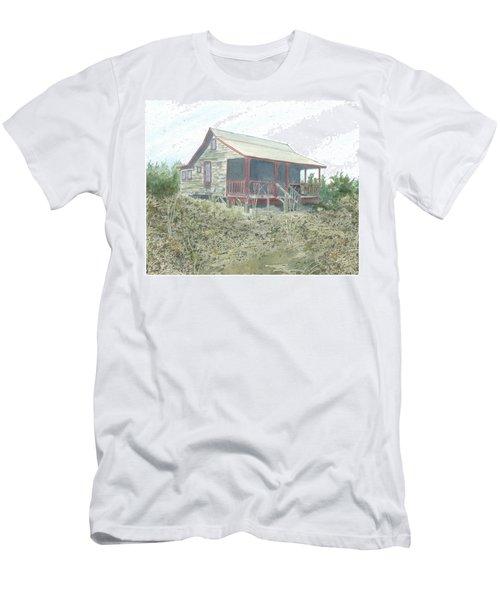 Get Away Cottage Men's T-Shirt (Slim Fit)