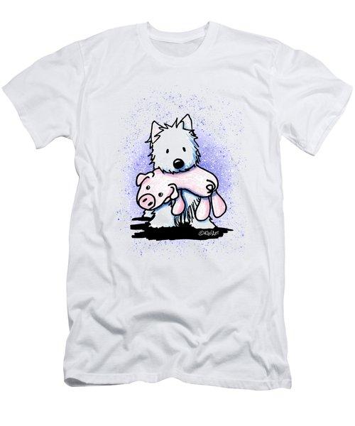 Gettin' Piggy With It Men's T-Shirt (Athletic Fit)