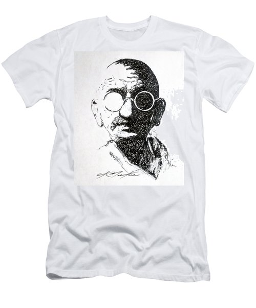 Ghandi Men's T-Shirt (Athletic Fit)