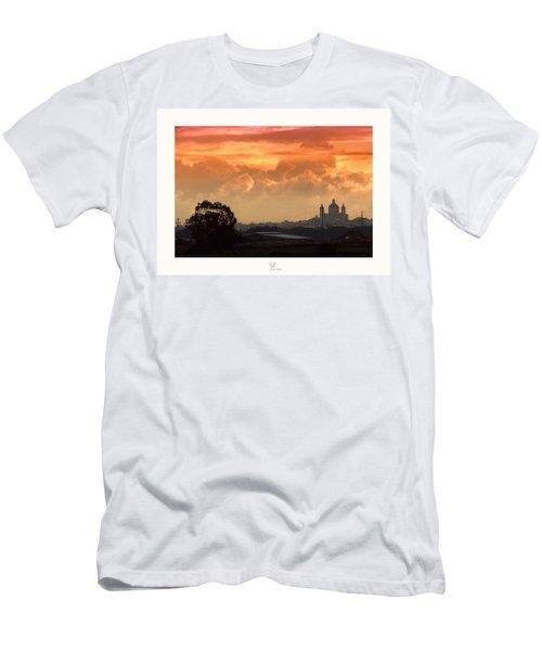 Ghaxaq Sebh - Delightful Sunrise Men's T-Shirt (Athletic Fit)