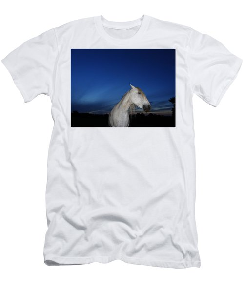 Ghost Horse Men's T-Shirt (Athletic Fit)