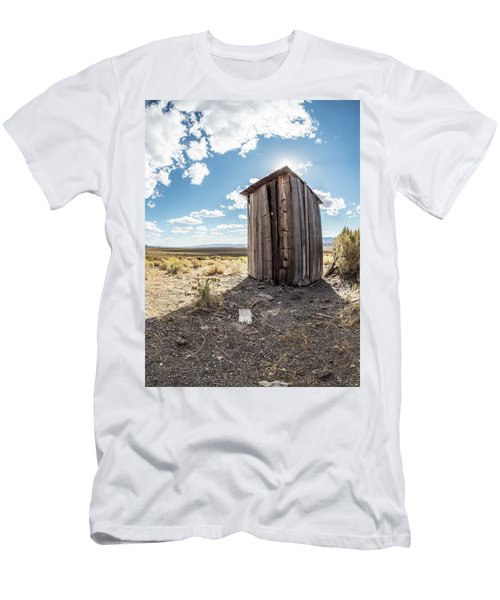 Ghost Town Outhouse Men's T-Shirt (Athletic Fit)