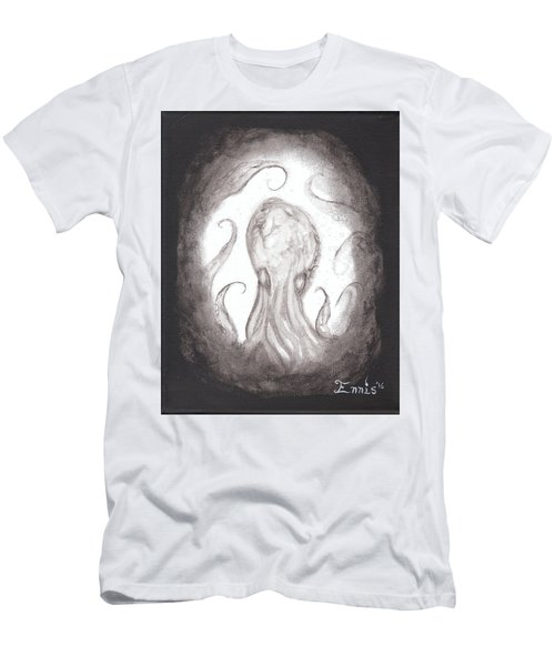 Ghostopus Men's T-Shirt (Slim Fit) by Christophe Ennis