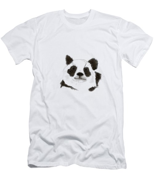 Giant Panda Men's T-Shirt (Athletic Fit)