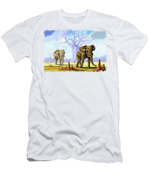 Giants And Little People Men's T-Shirt (Athletic Fit)