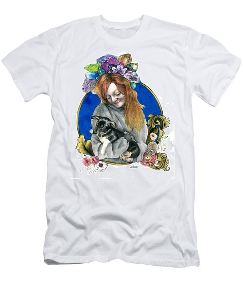 Ginger And Her Lovelies Men's T-Shirt (Athletic Fit)