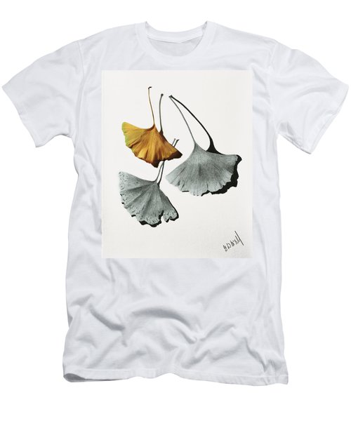 Ginkgo Leaves Men's T-Shirt (Athletic Fit)